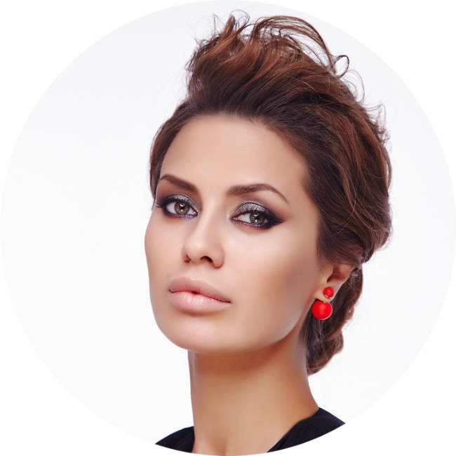 макияж Виктории Бони