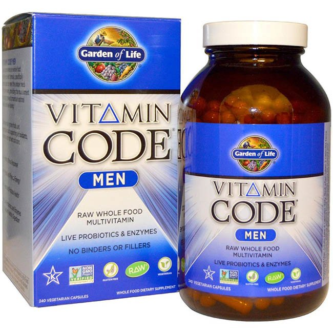 Витамины и минералы Garden of Life Multivitamin for Men Vitamin Code.jpg